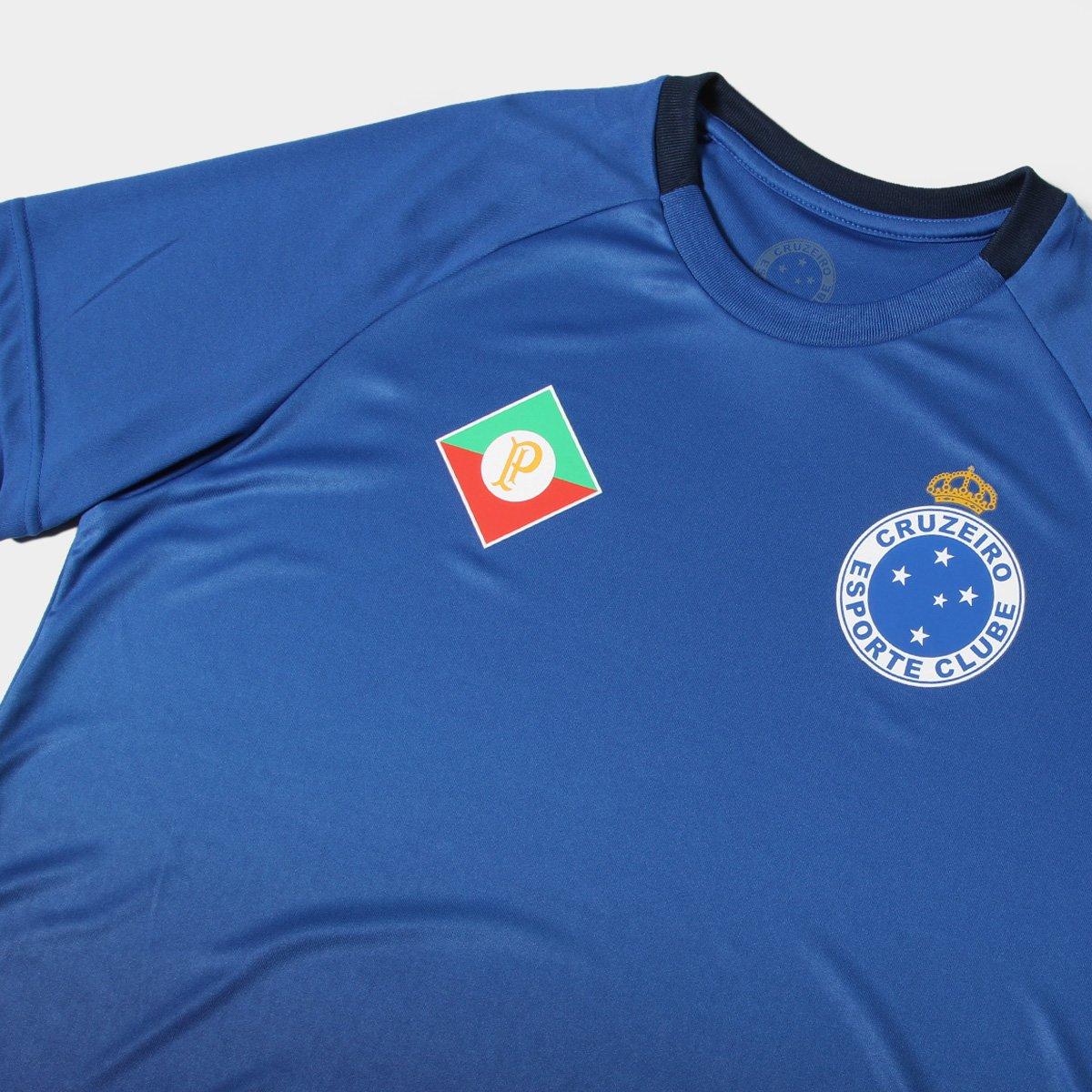 2a3c4b35a8 Camisa Cruzeiro 2009 s nº Masculina - Azul - Compre Agora