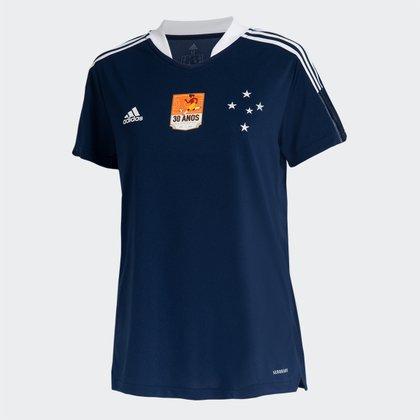 Camisa Cruzeiro 30 anos da Copa Adidas Feminina
