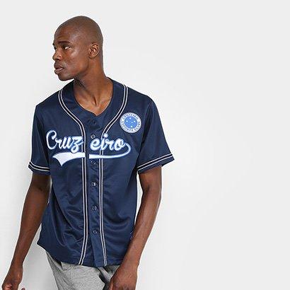 A Camisa Cruzeiro Baseball Masculina consegue aliar dois grandes esportes  em uma mesma paixão  o b6e56c3b5f562