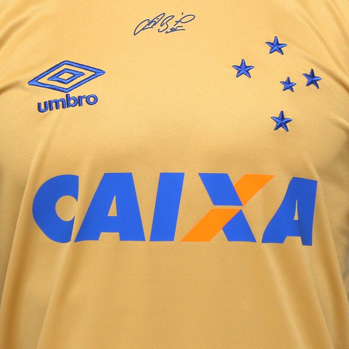 ... Camisa Cruzeiro Goleiro 17 18 nº 1 - Fábio Torcedor Umbro Masculina ... df8acf3c59ac8