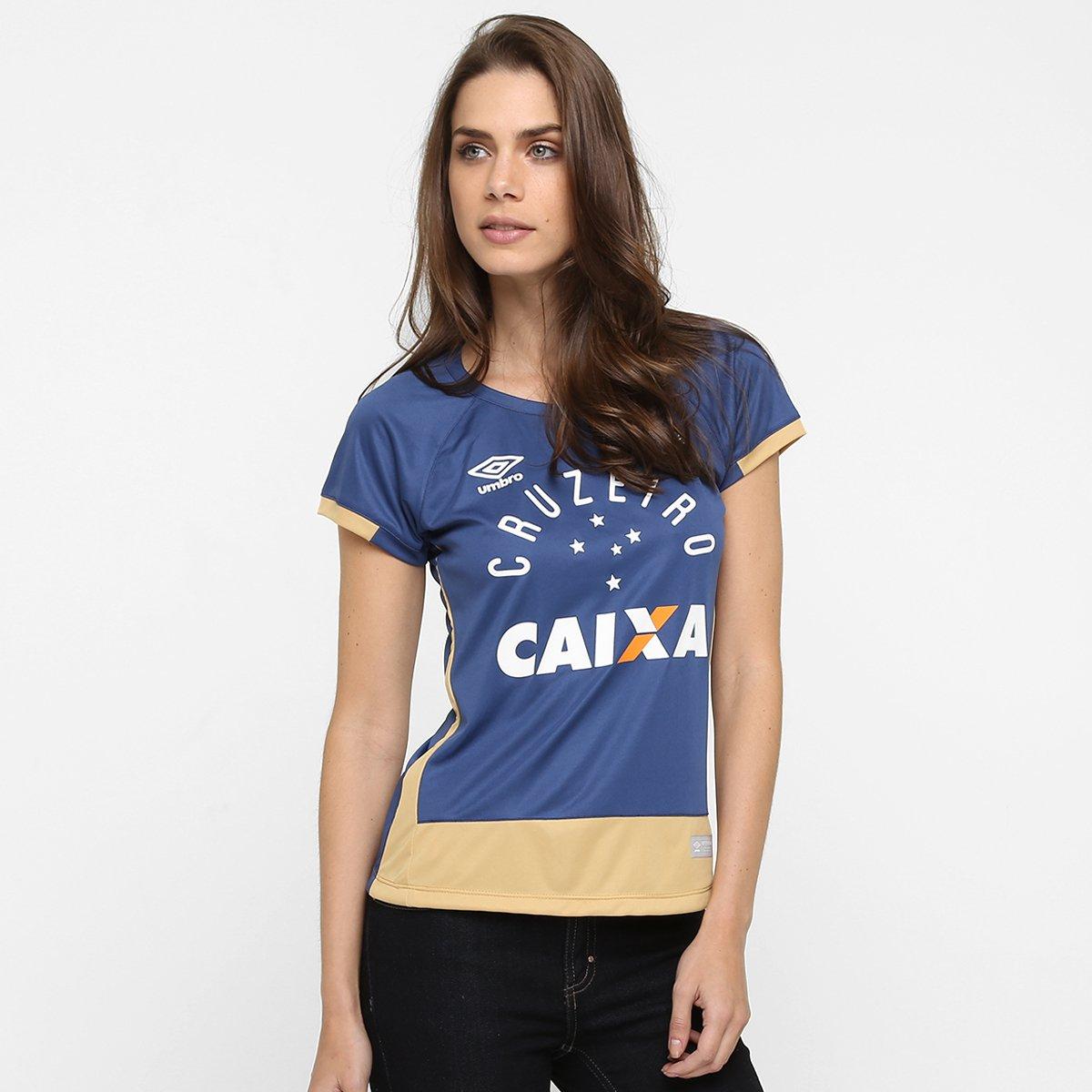 Camisa Cruzeiro Goleiro 2016 nº 1 - Fábio - Torcedor Umbro Feminina -  Compre Agora  8e7c0b130972a