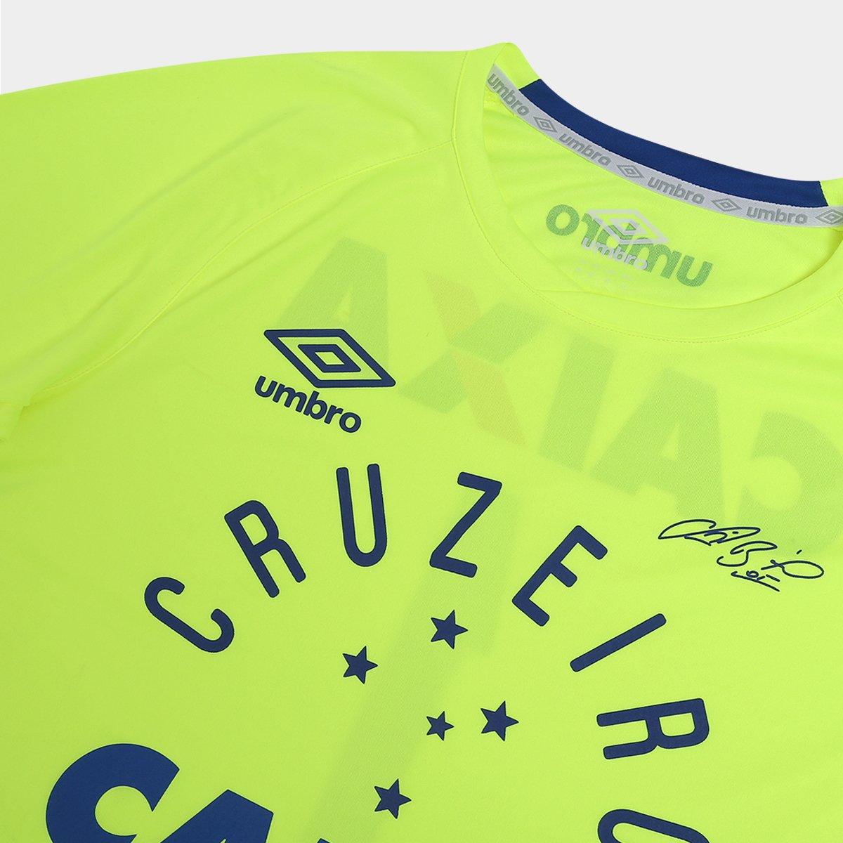 Camisa Cruzeiro Goleiro 2016 nº 1 - Fábio Torcedor Umbro Masculina ... 1235226538f33