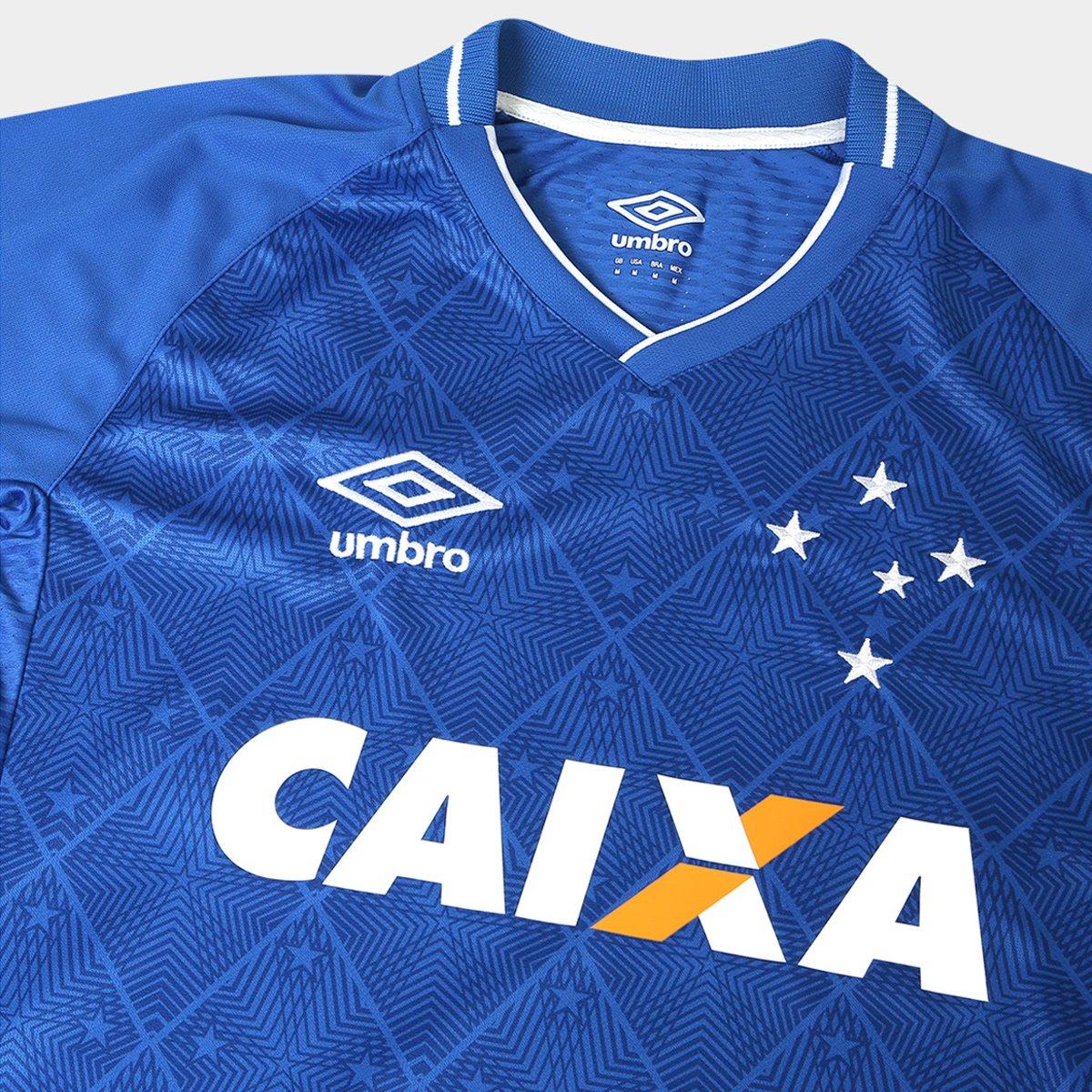 6478c87552 Camisa Cruzeiro I 17 18 N°18 Rafinha Torcedor Umbro Masculina ...