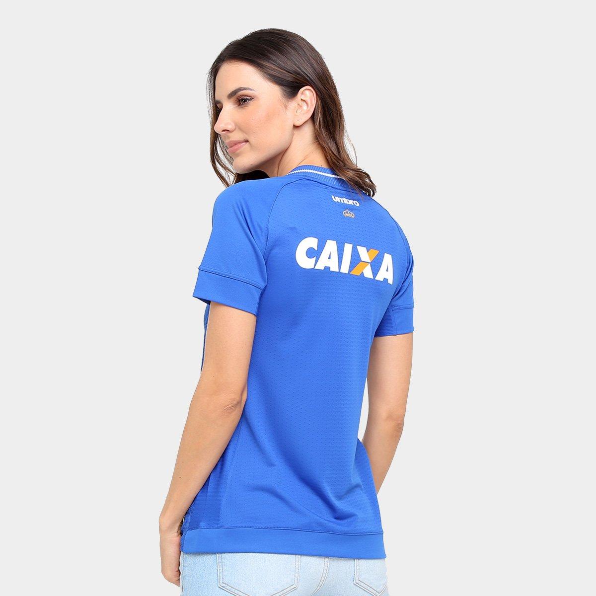 Camisa Cruzeiro I 17 18 s nº Torcedor Umbro Feminina - Compre Agora ... 9f5630c9ca8a2