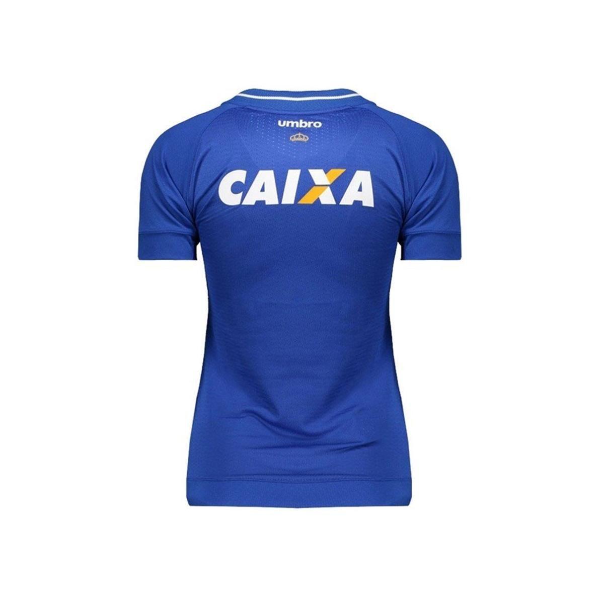 Camisa Cruzeiro I 17 18 S Nº Torcedor Umbro Feminina - Compre Agora ... 7efcd1b98531b