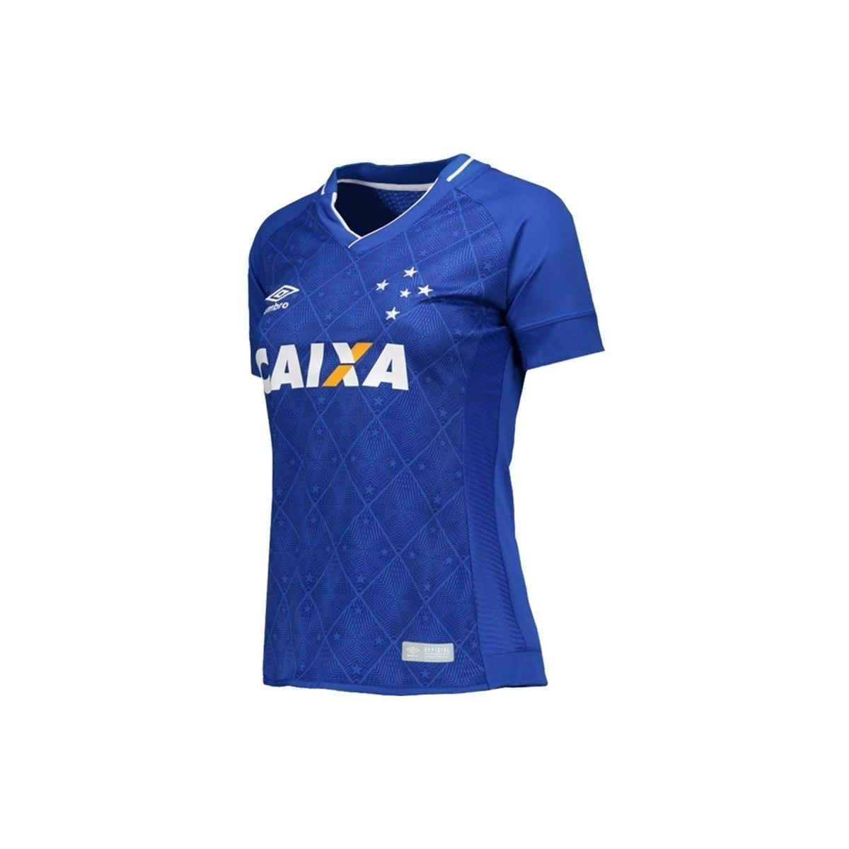 9f0006baf8 Camisa Cruzeiro I 17 18 S Nº Torcedor Umbro Feminina - Compre Agora ...