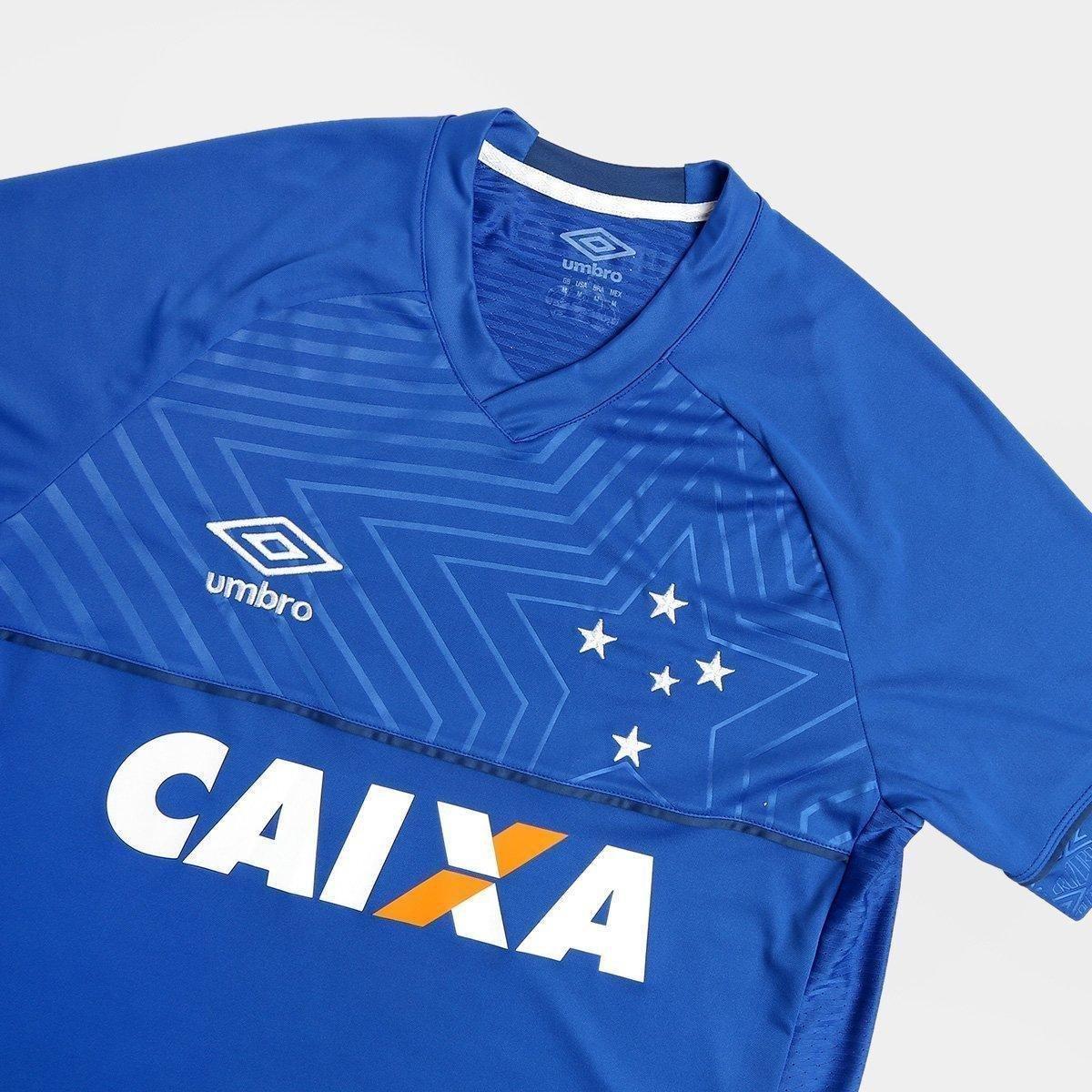 ... Camisa Cruzeiro I 18 19 s n° C Patrocínio - Torcedor Umbro ...  a08ab67de248df ... 6921176ede164