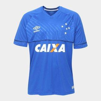 Camisa Cruzeiro I 18/19 s/n° - Jogador Umbro Masculina