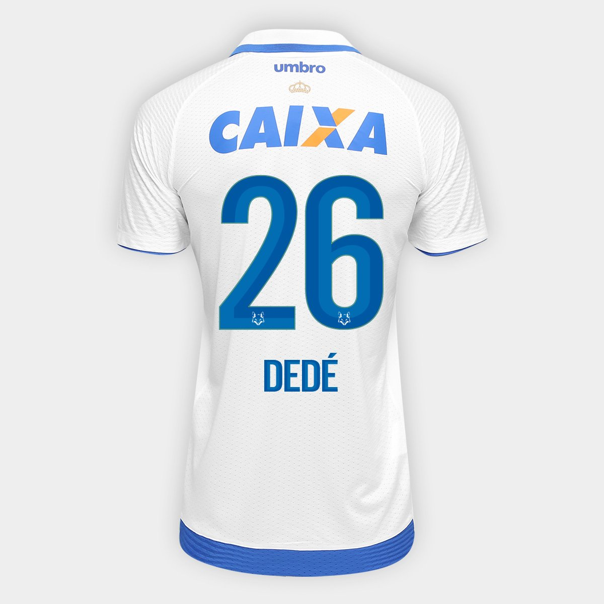 4c1b1987e2 Camisa Cruzeiro II 17/18 nº 26 - Dedé Torcedor Umbro Masculina   Netshoes