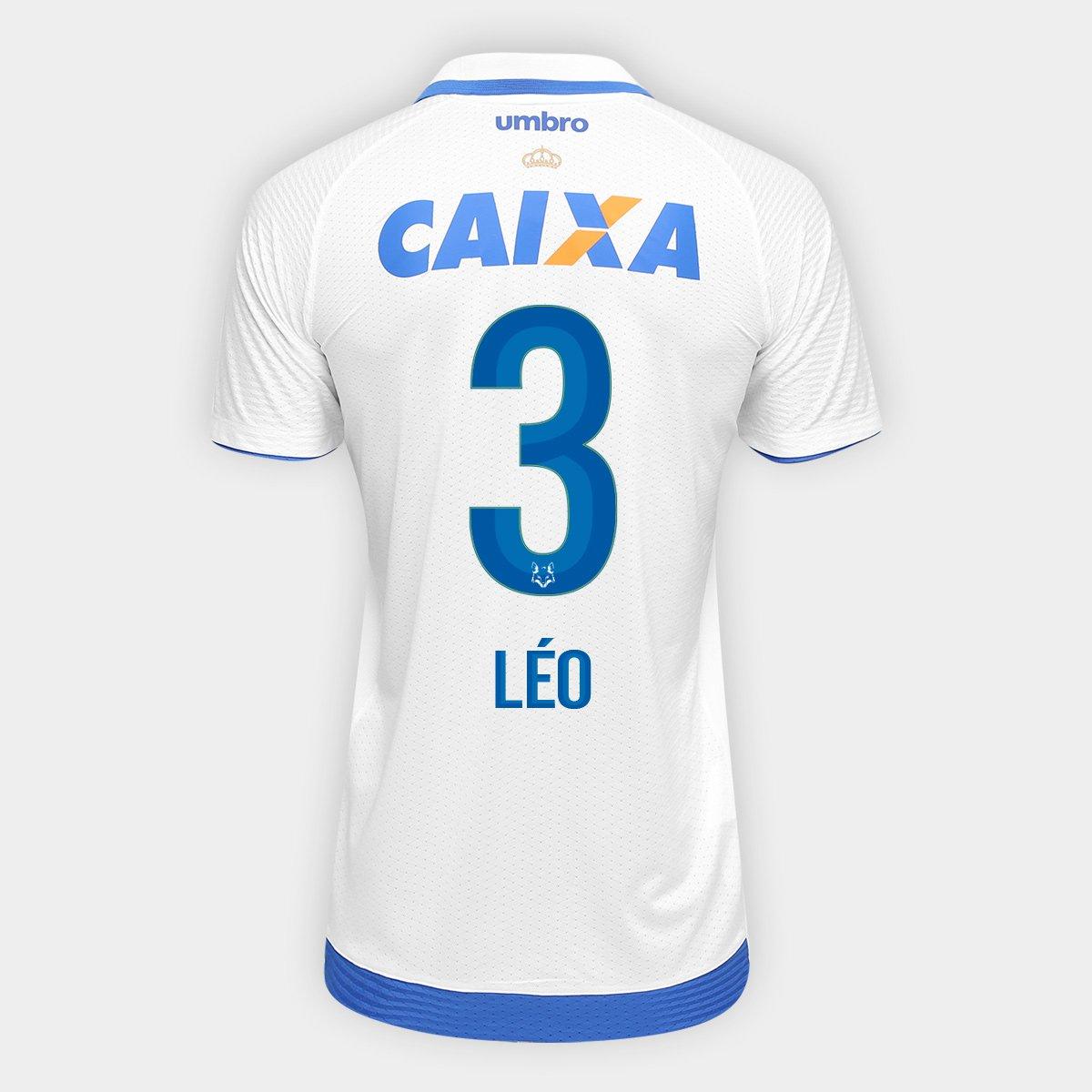 86d7b44d88c48 Camisa Cruzeiro II 17 18 nº 3 - Léo Torcedor Umbro Masculina - Compre Agora