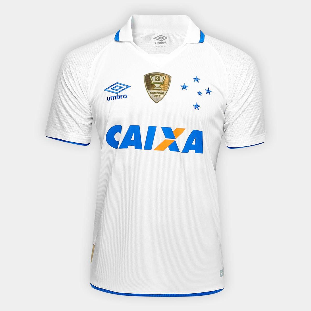 Camisa Cruzeiro II 17 18 s nº - Patch Campeão da Copa do Brasil Torcedor  Umbro Masculina - Compre Agora  86c5d63d27d3e