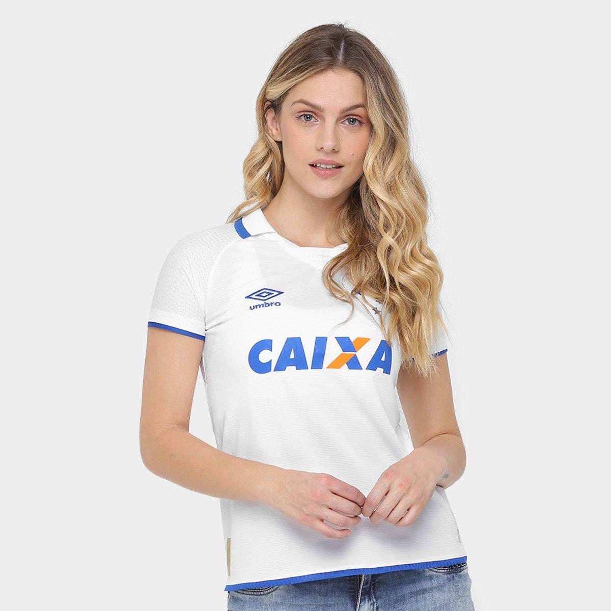 92335cb7b39f8 Camisa Cruzeiro II 17 18 s nº Torcedor Umbro Feminina - Compre Agora ...