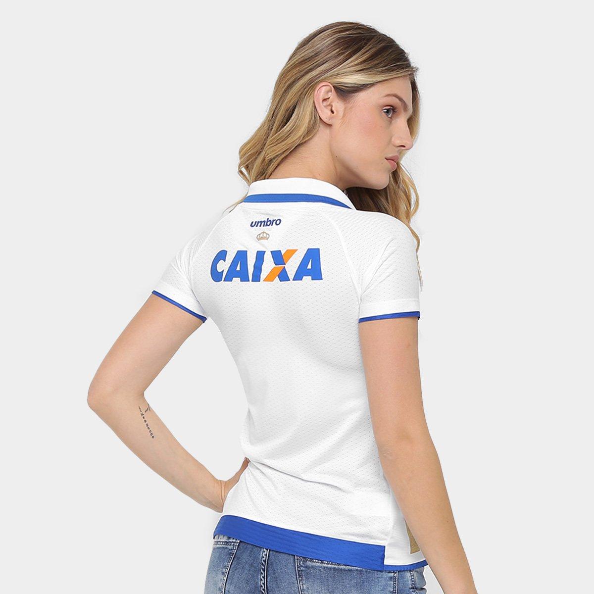 Camisa Cruzeiro II 17 18 s nº Torcedor Umbro Feminina - Compre Agora ... a7df7d199790f