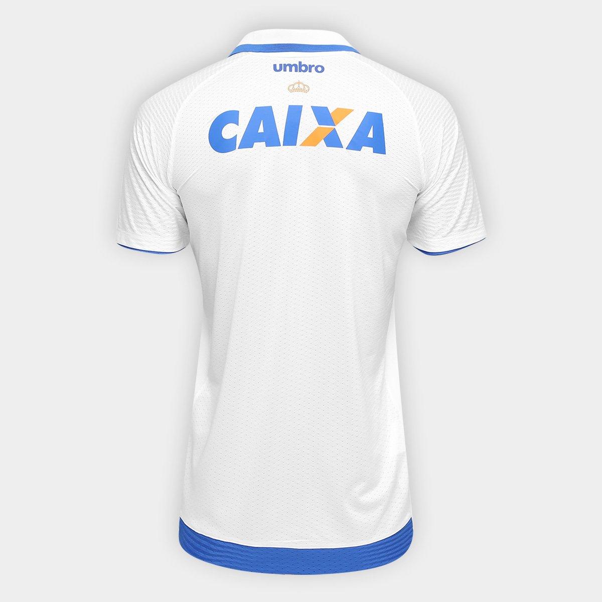 Camisa Cruzeiro II 17 18 s nº - Torcedor Umbro Masculina - Branco e ... 6c1ceda80002b
