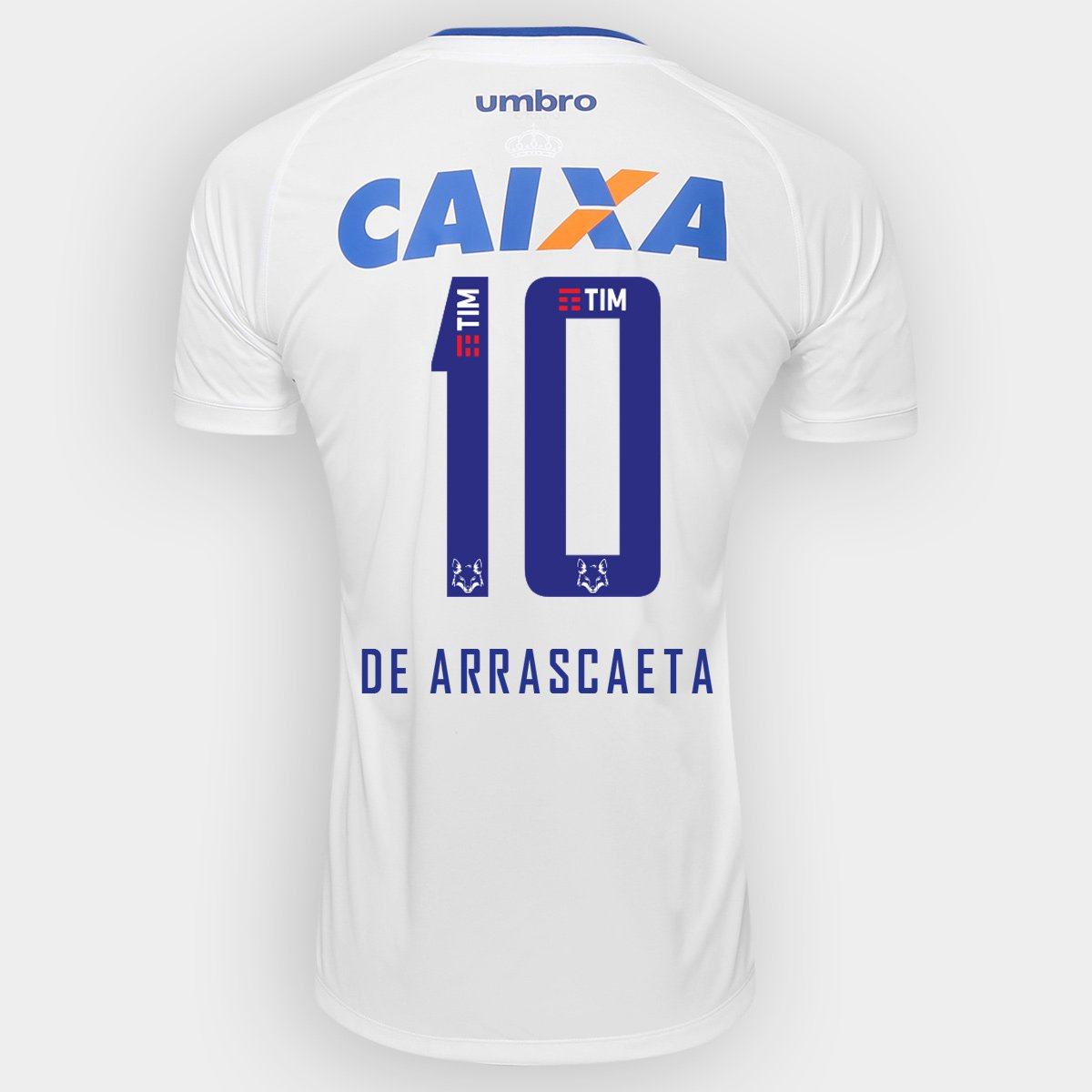 Camisa Cruzeiro II 2016 N° 10 De Arrascaeta - Torcedor Umbro Masculina -  Compre Agora  777444866d7ca