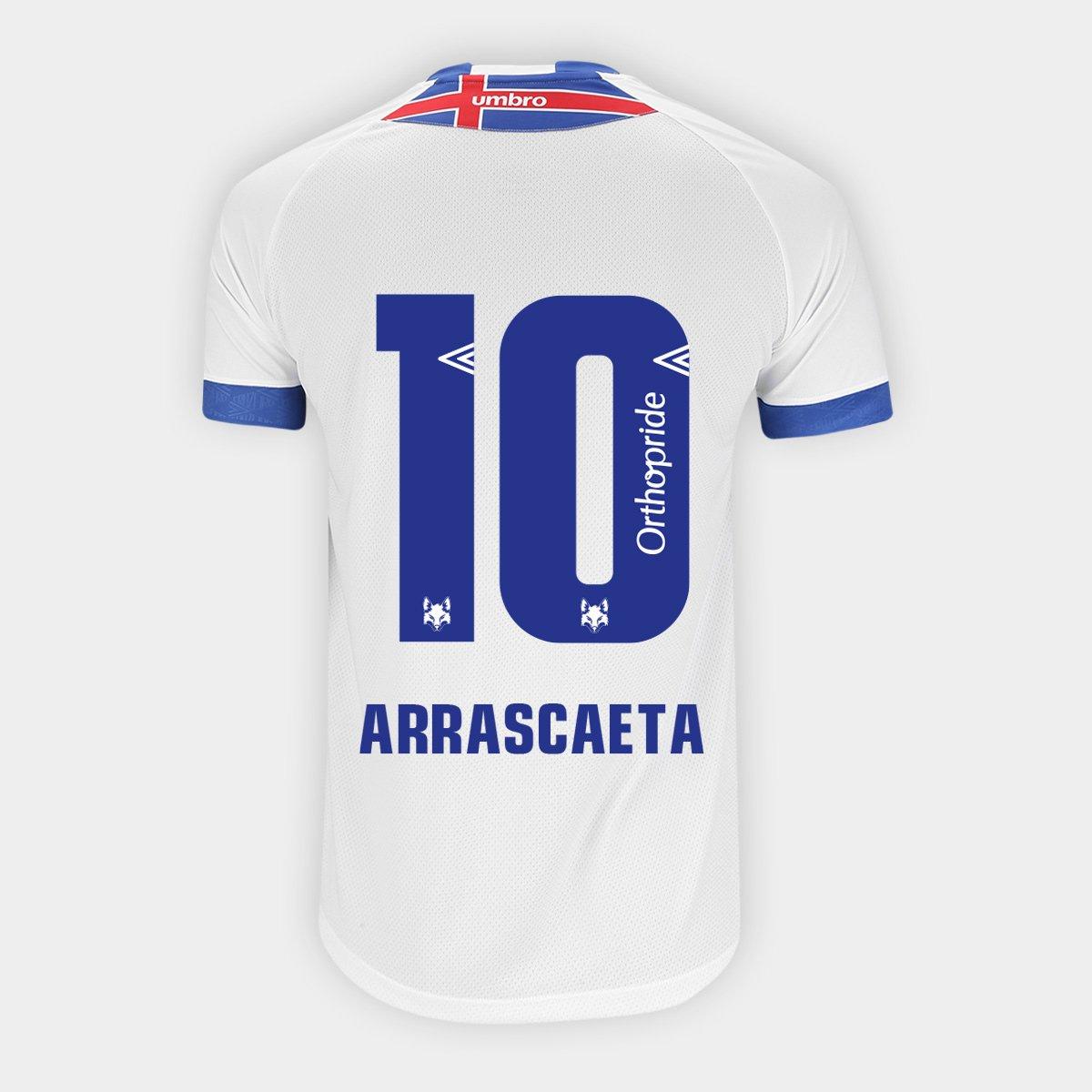 e0b63a4764 Camisa Cruzeiro II 2018 N° 10 Arrascaeta - Torcedor Umbro Masculina -  Compre Agora