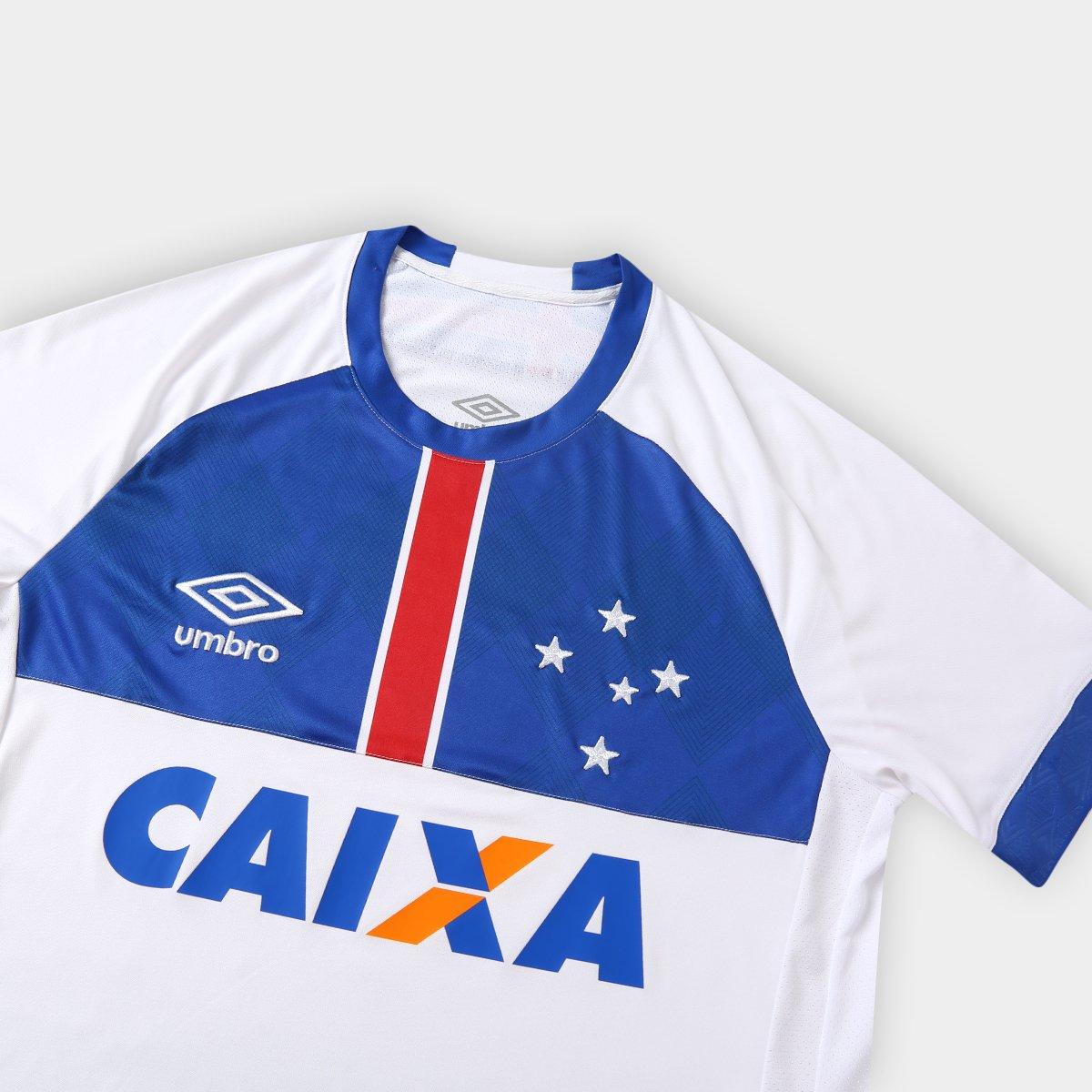 ... Camisa Cruzeiro II 2018 s n° C  Patrocínio Blár Vikingur - Torcedor  Umbro aa734a89f63bf