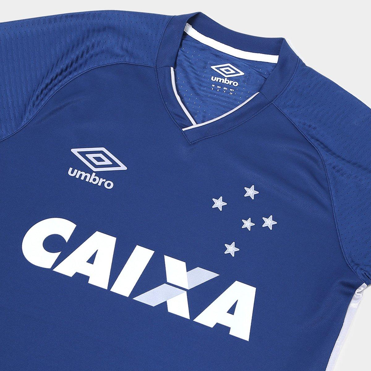 c6ea4bf1ff Camisa Cruzeiro III 17 18 s n° - Torcedor Umbro Masculina - Compre ...