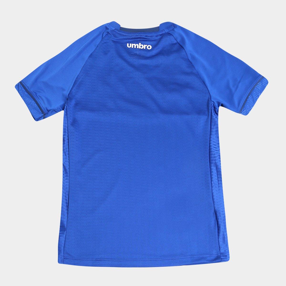 Umbro 18 19 n° Torcedor Branco I e s Camisa Cruzeiro Infantil Azul xqB886