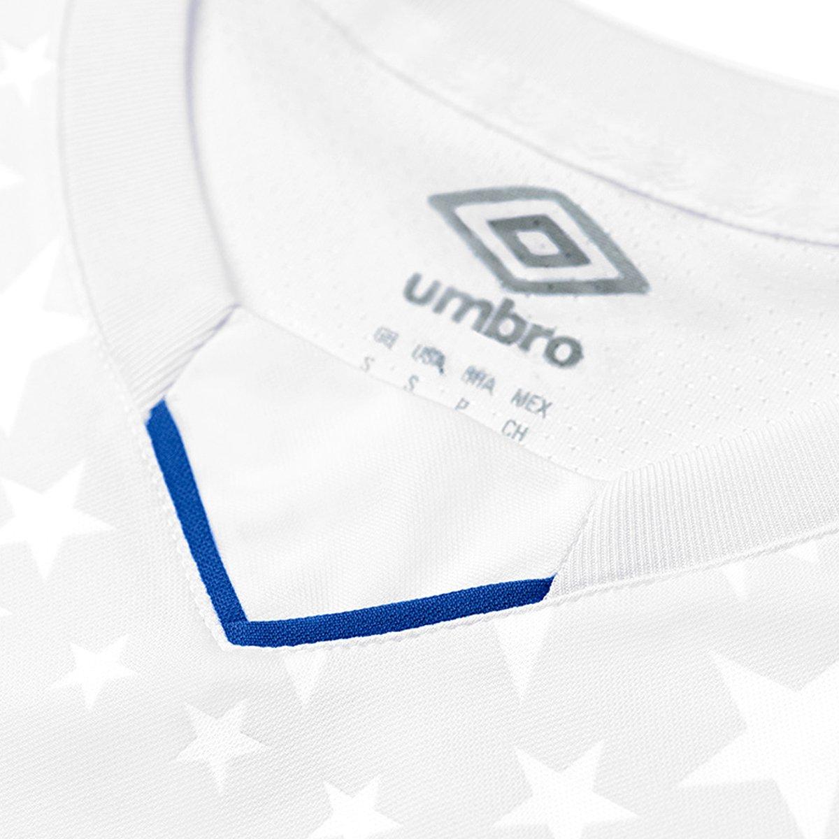Camisa Cruzeiro Infantil II 2019 s n° - Torcedor Umbro - Branco e ... 661d8f76a65e2