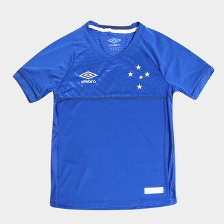 Camisa Cruzeiro Juvenil I 18/19 s/n° Torcedor Umbro
