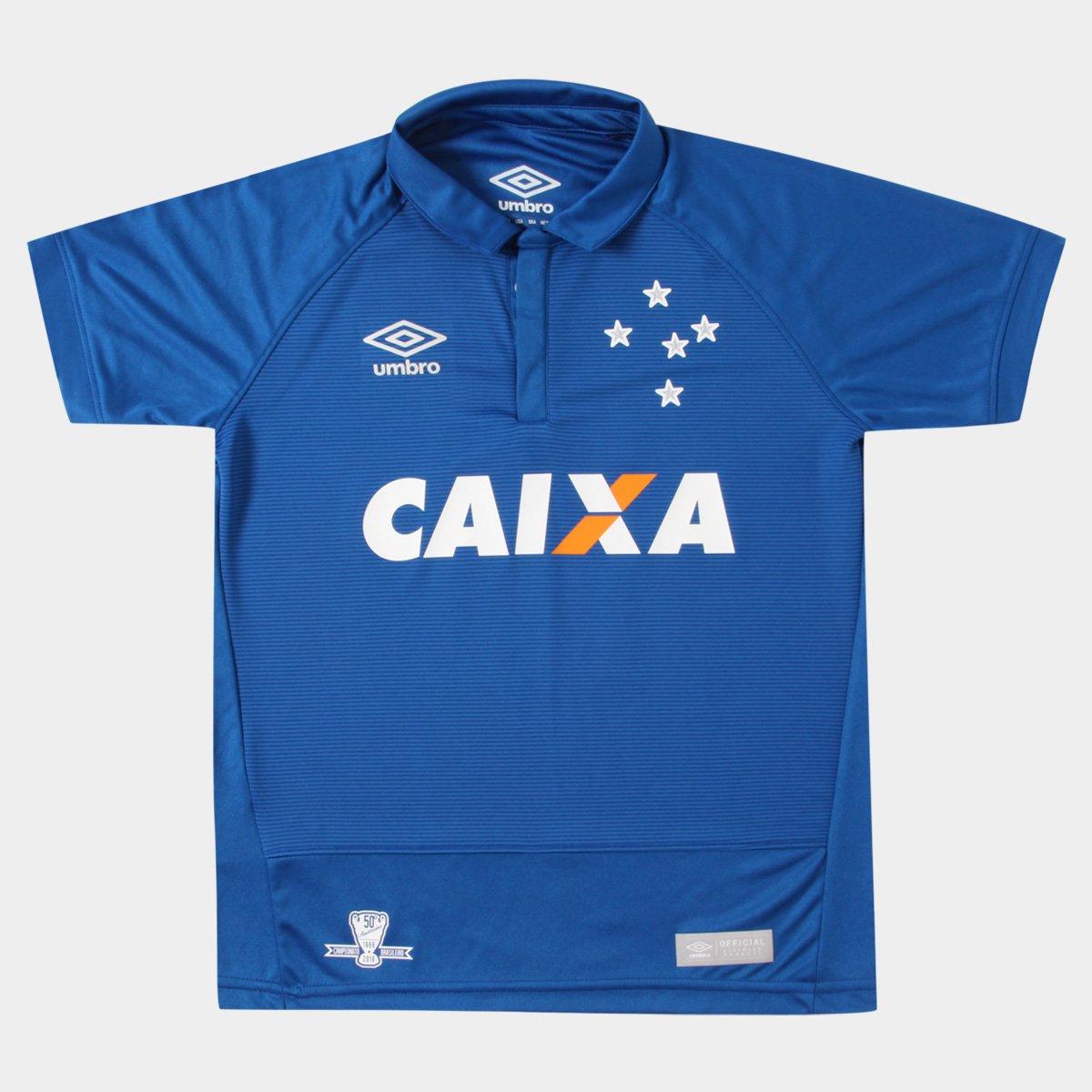 Camisa Cruzeiro Juvenil I 2016 nº 10 - Torcedor Umbro - Compre Agora ... 481e0f06d8053