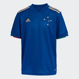 Camisa Cruzeiro Juvenil I 21/22 s/n° Torcedor Adidas