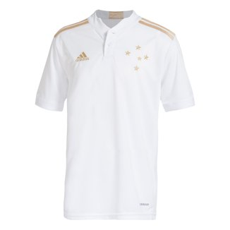 Camisa Cruzeiro Juvenil II 21/22 s/n° Torcedor Adidas