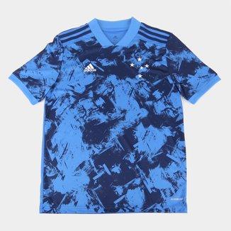 Camisa Cruzeiro Juvenil III 20/21 s/n° Torcedor Adidas
