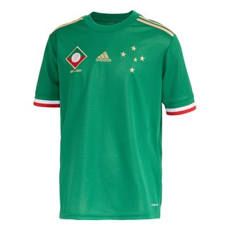Camisa Cruzeiro Juvenil III 21/22 s/n° Torcedor Adidas