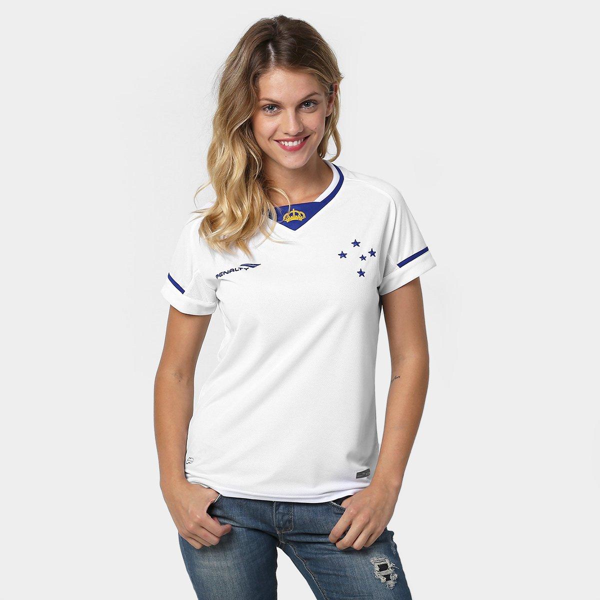 Camisa Cruzeiro ll 2015 s n° Torcedor Penalty Feminina - Compre Agora  0689a06b987ef