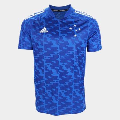 Camisa Cruzeiro Pré-Jogo 21/22 Adidas Masculina