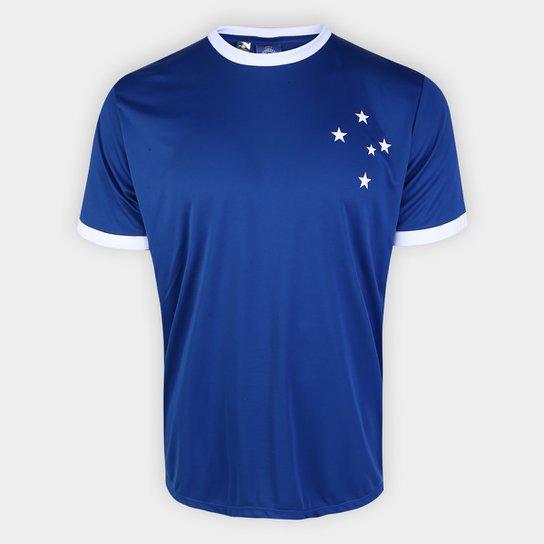 Camisa Cruzeiro Rei De Copas n° 10 Exclusiva Masculina - Azul