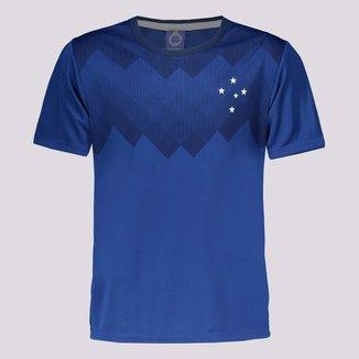 Camisa Cruzeiro Tekla Infantil Azul