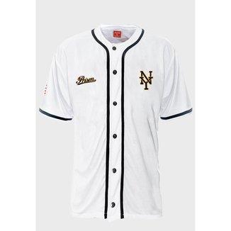 Camisa de Baseball Prison N.Y