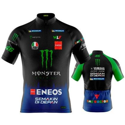 Camisa de Ciclismo Masculina The Doctor Dry Fit Com Bolsos Proteção UV 50