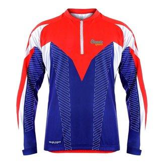 Camisa de Ciclismo UPF 15 - Classic Sports - Manga Longa