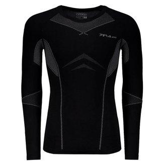 Camisa de Compressão Poker Skin Power X-ray III Masculina