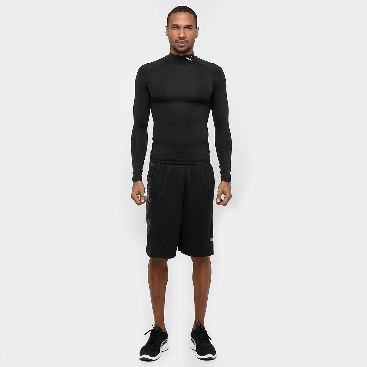 c99107323e Camisa de Compressão Puma Lite Manga Longa - Compre Agora