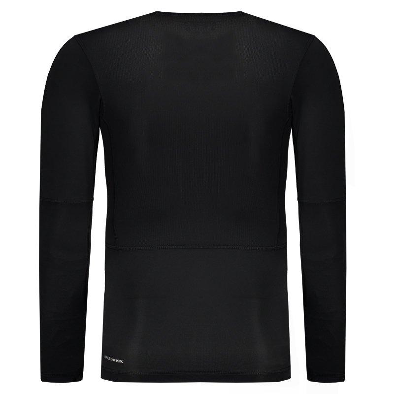 Camisa de Compressão Reebok Wor Solid Preta - Compre Agora  8e09ecfabe0