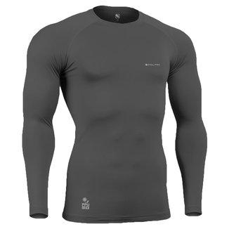 Camisa de Compressão Térmica Stigli Pro Proteção Solar FPU 50+ Manga Longa Poliamida