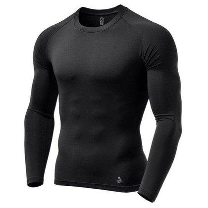 Camisa de Compressão Térmica Stigli Pro Proteção Solar FPU 50+ Manga Longa Rash Guard