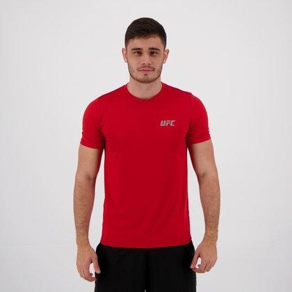 Camisa de Compressão UFC Training Vermelha