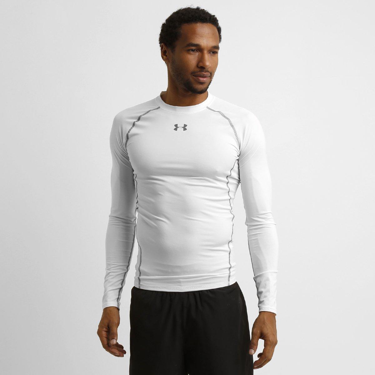 ... Camisa de Compressão Under Armour HG Manga Longa Masculina - Compre . d482a2620fdab