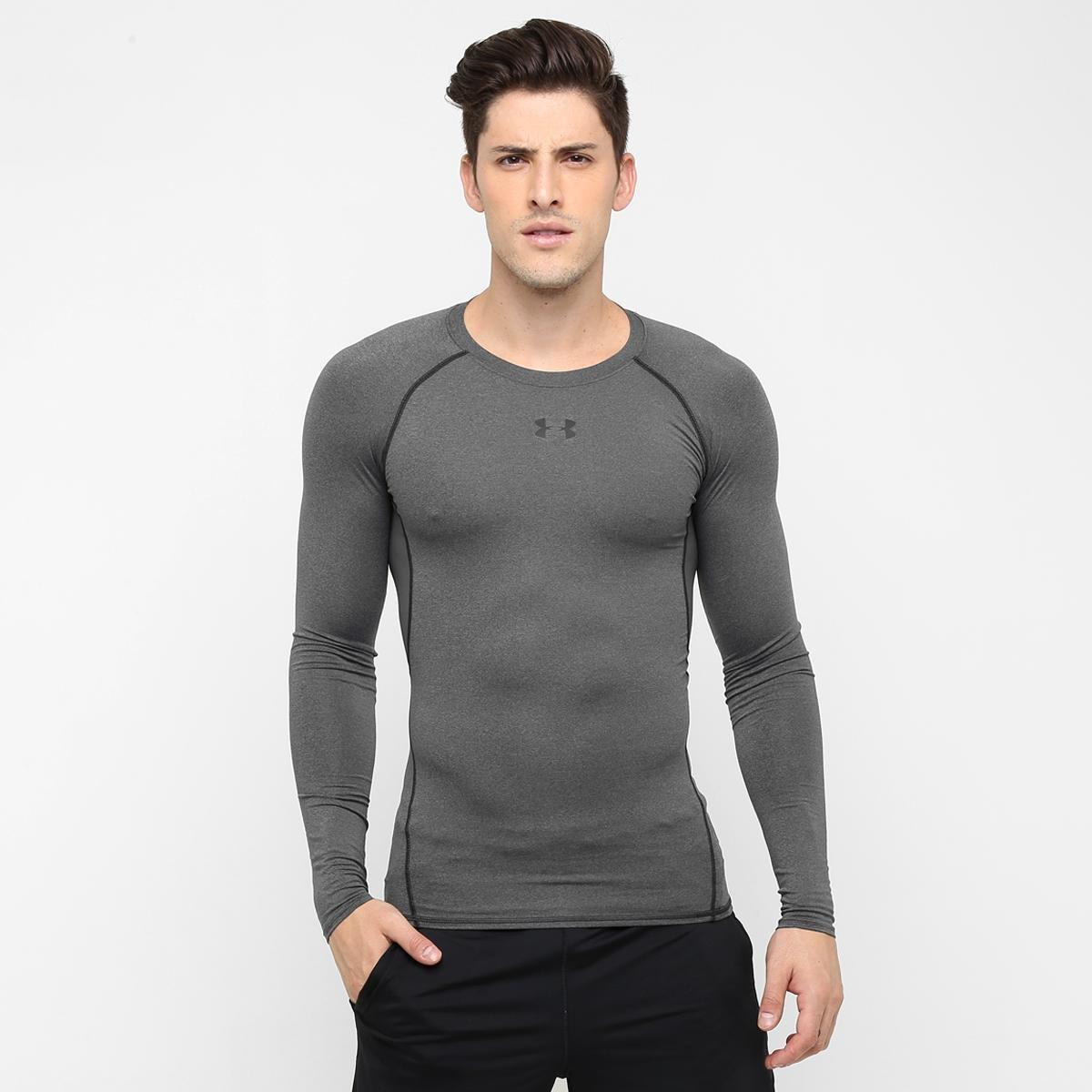 0f168498bf7b4 Camisa de Compressão Under Armour HG Manga Longa Masculina - Compre Agora
