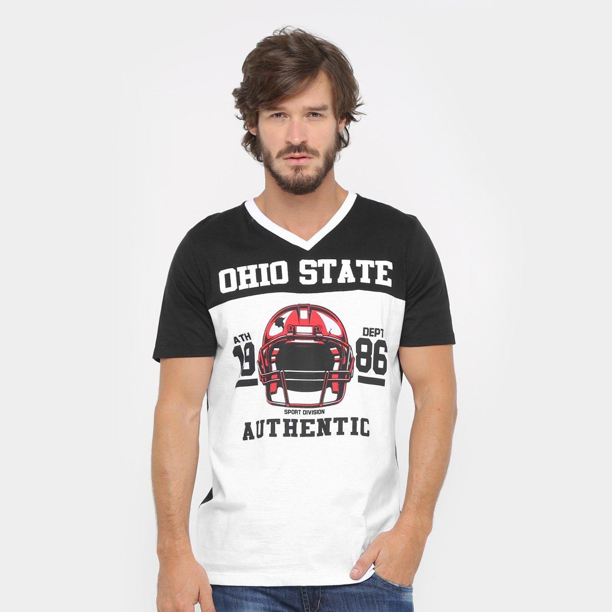 Camisa de Futebol Americano Gonew Leagues Ohio State - Compre Agora ... ee3d4369cbf3f
