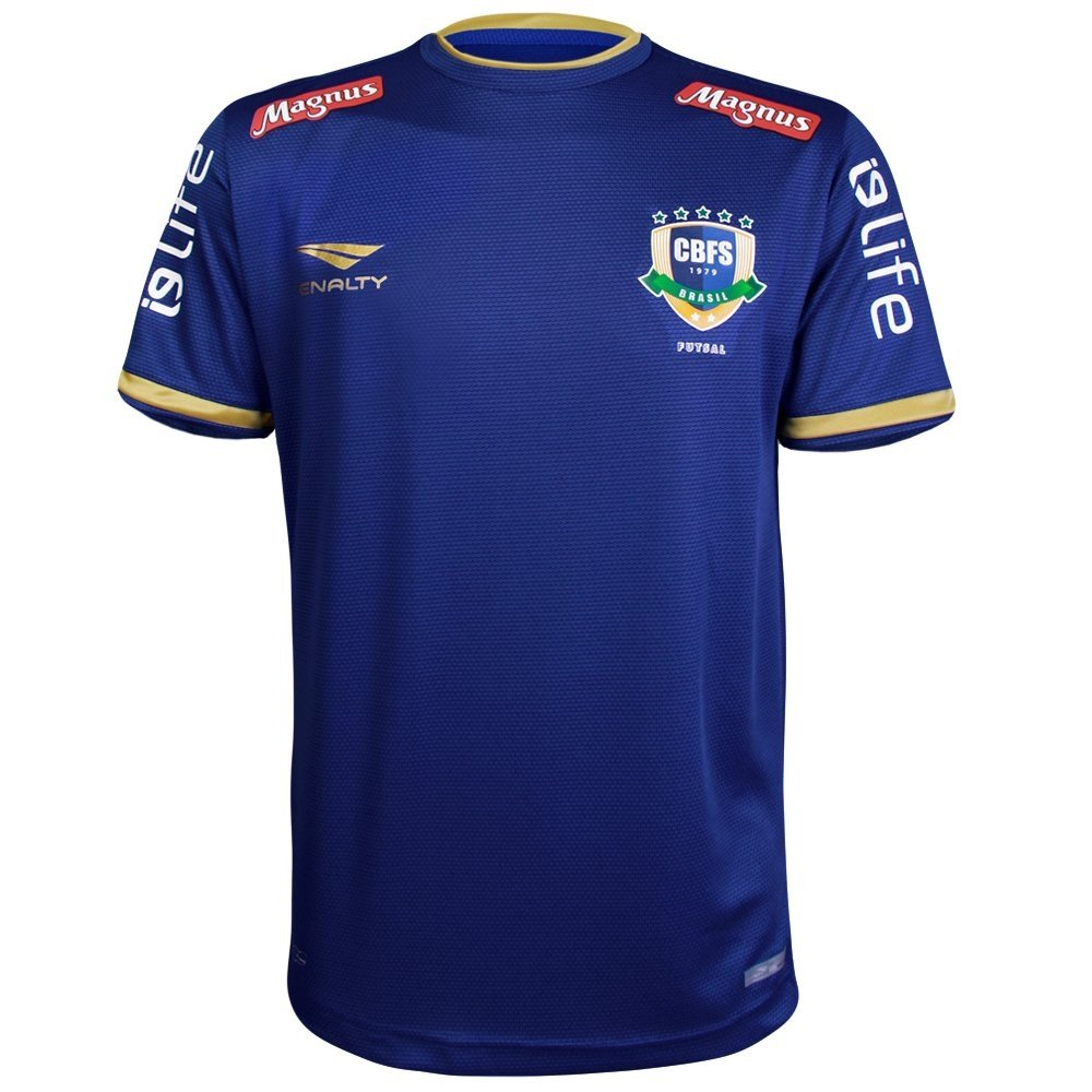 Camisa De Futsal Penalty Brasil CBFS OF 2 2018 Masculina - Compre Agora  6ce0815fbf7