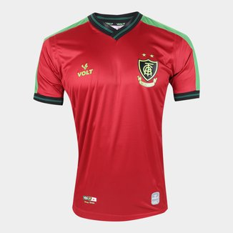 Camisa de Goleiro América Mineiro I 21/22 s/n° Torcedor Volt Masculina