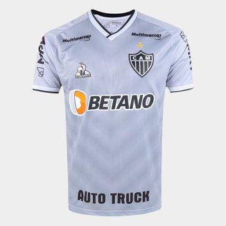 Camisa de Goleiro Atlético Mineiro I 21/22 s/n° Torcedor Le Coq Masculina