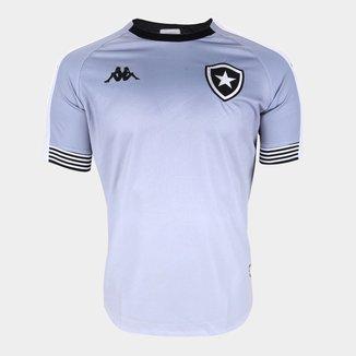 Camisa de Goleiro Botafogo I 20/21 s/n° Torcedor Kappa Masculina